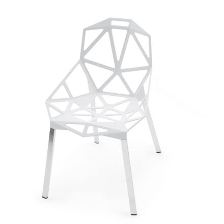 Magis - Chair One Stapelstuhl, weiss