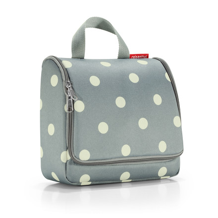 reisenthel - toiletbag, grey dots