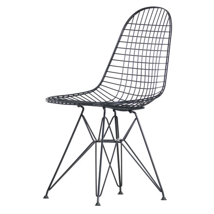 Vitra - Wire Chair DKR, schwarz