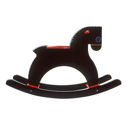 Playsam - Rocking Horse, schwarz