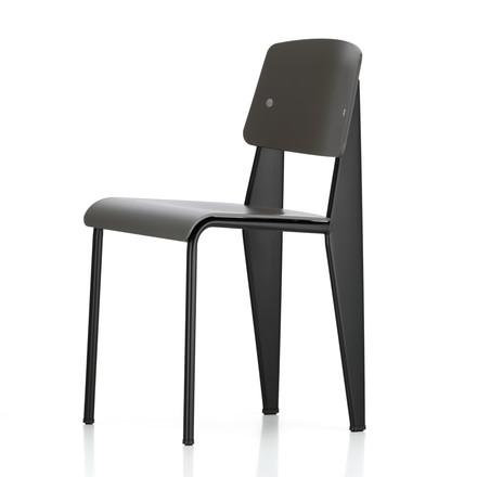 Vitra prouvé standard sp chair schwarz basalt einzelabbildung