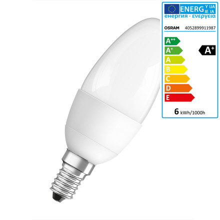 Osram - LED Star Classic B 40, E14, frosted
