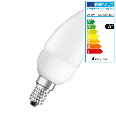Osram - LED Star Classic B 25, E14, frosted