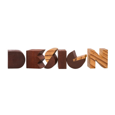 Areaware - Alphabet Blocks - Beispiel, Design