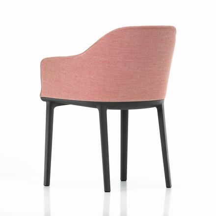 Vitra - Softshell Chair, moss, creme-dunkelrot