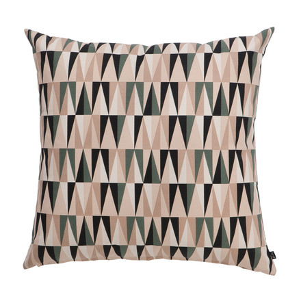 Ferm Living - Spear Floor Cushion, Kissen, rosa, 80x80