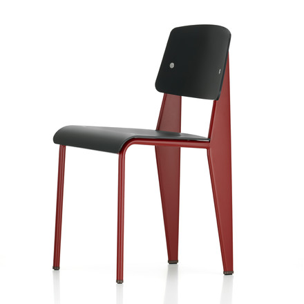 Vitra - Prouvé Standard SP Chair, japanese red / schwarz