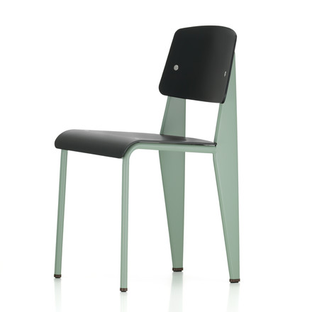 Vitra - Prouvé Standard SP Chair, mint / schwarz