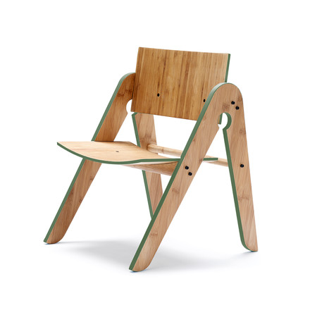 We do wood - Lilly's Chair, grün