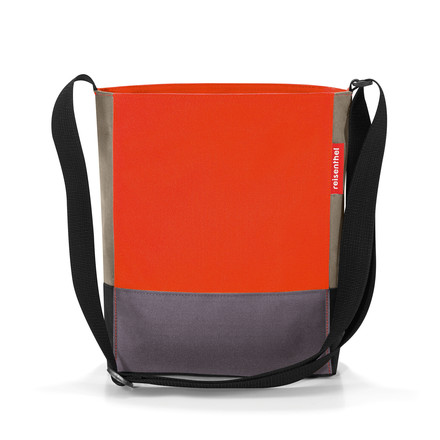 Die reisenthel - shoulderbag S in patchwork mandarin