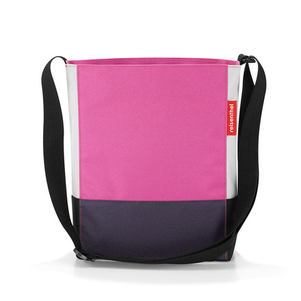 Die reisenthel - shoulderbag S in patchwork magenta