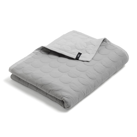Hay - Mega Dot Quilt, light grey