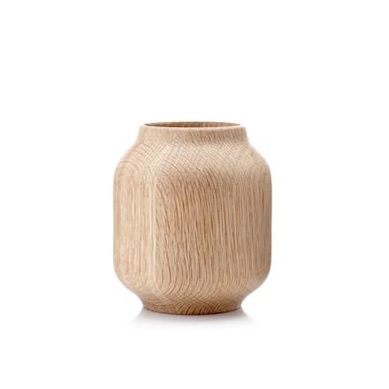 Applictata - Poppy Vase small, Eiche