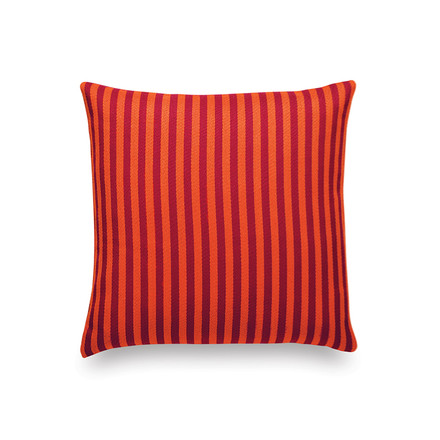 Vitra - Classic Kissen Maharam: Toostripe orange dark / crimson dark