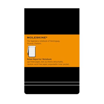 Moleskine - Linierter Notizblock Large, Hardcover