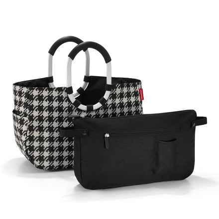 loopshopper M fifties black von reisenthel mit Innentasche