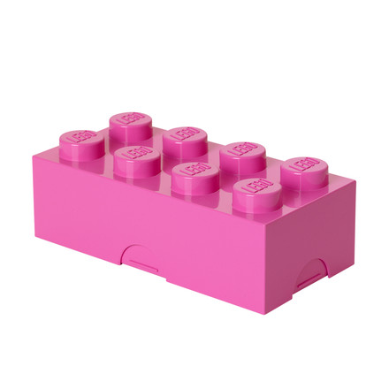 Lego - Lunch Box 8, pink