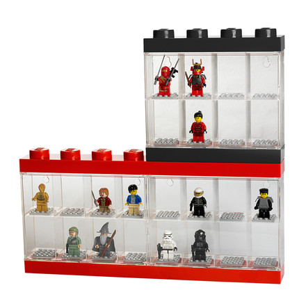 Lego - Storage Box & Minifigure Display Case