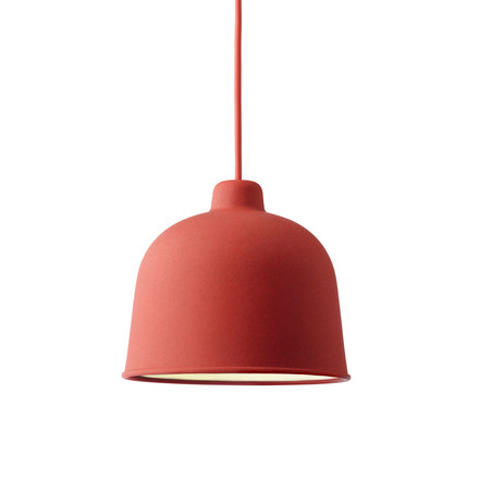 Muuto - Grain Pendelleuchte, dusty red