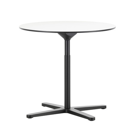 Super Fold Table Ø 796 mm von Vitra in weiß