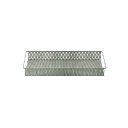 Metal Tray Small von ferm Living in Dusty Green