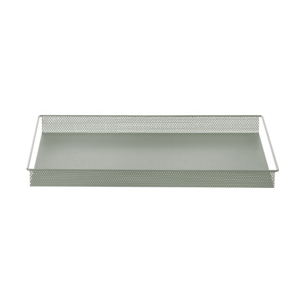 Metal Tray Large von ferm Living in Dusty Green