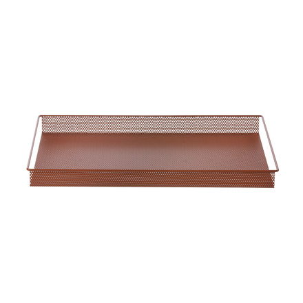 Metal Tray Large von ferm Living in Rot