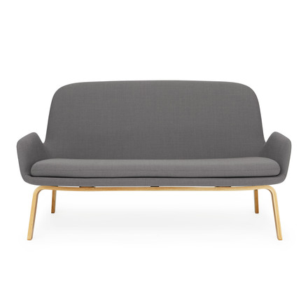 Era Sofa von Normann Copenhagen aus Eiche in Breeze Fusion Dunkelgrau