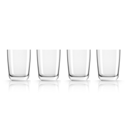 Longdrink-Glas 425 ml (4er-Set) von Palm Products in Weiß