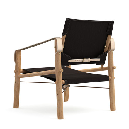 Nomad Chair von We Do Wood in schwarz.