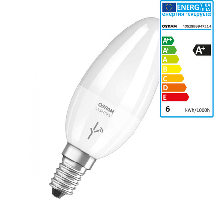 Lightify LED Classic B 40 Tunable White von Osram