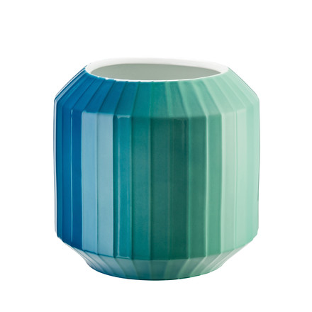 Die Hot-Spot Vase in Coastal Shades, 22 cm von Rosenthal