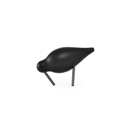 Shorebird Small von Normann Copenhagen in Schwarz