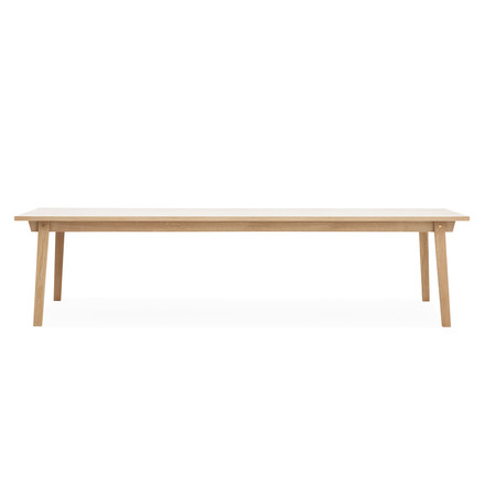Slice Table Wood 90 x 300 cm von Normann Copenhagen aus Eiche