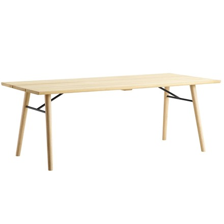 Split Dining Table von Woud in Eiche geseift