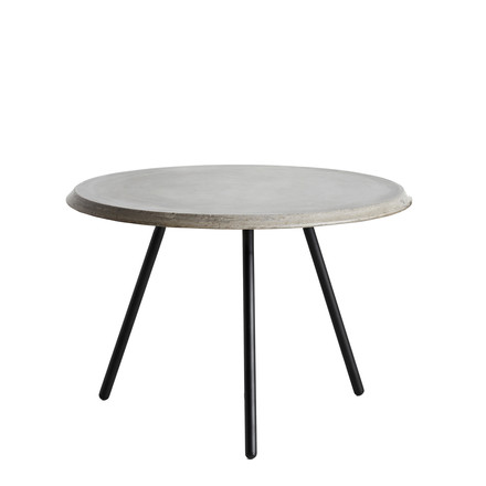 Soround Side Table High Concrete von Woud