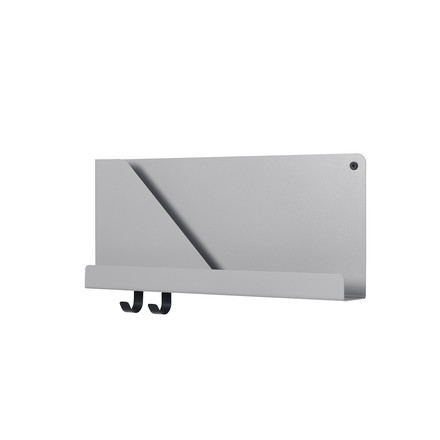 Small Folded Shelve 51 x 22 cm von Muuto in Grau