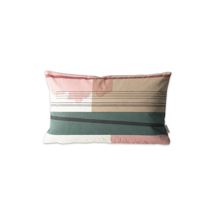 Colour Block Kissen Small 1 von ferm Living