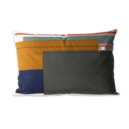 Colour Block Kissen Large 2 von ferm Living