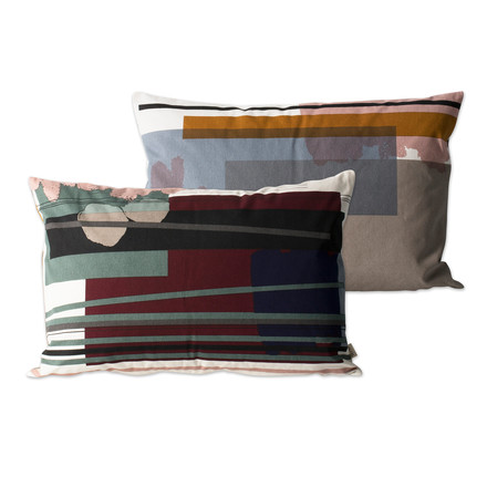 Colour Block Kissen Large 4 von ferm Living