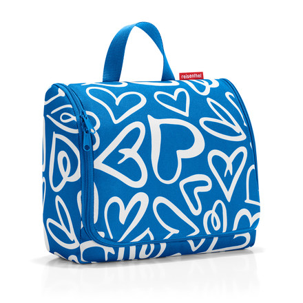 toiletbag XL von reisenthel in funky hearts (Limited Edition)