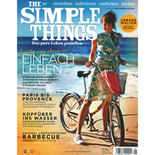 "Zeitschrift ""Simple Things"", Cover August/September 2013"