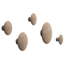"Muuto - Wandhaken ""The Dots"" 5er-Set"