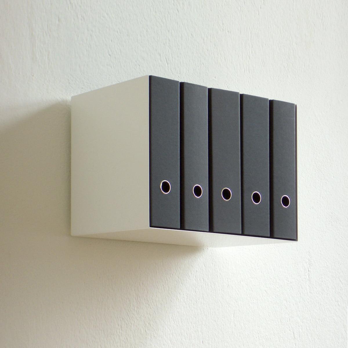 linea1 c ordnerregal wohndesign shop. Black Bedroom Furniture Sets. Home Design Ideas