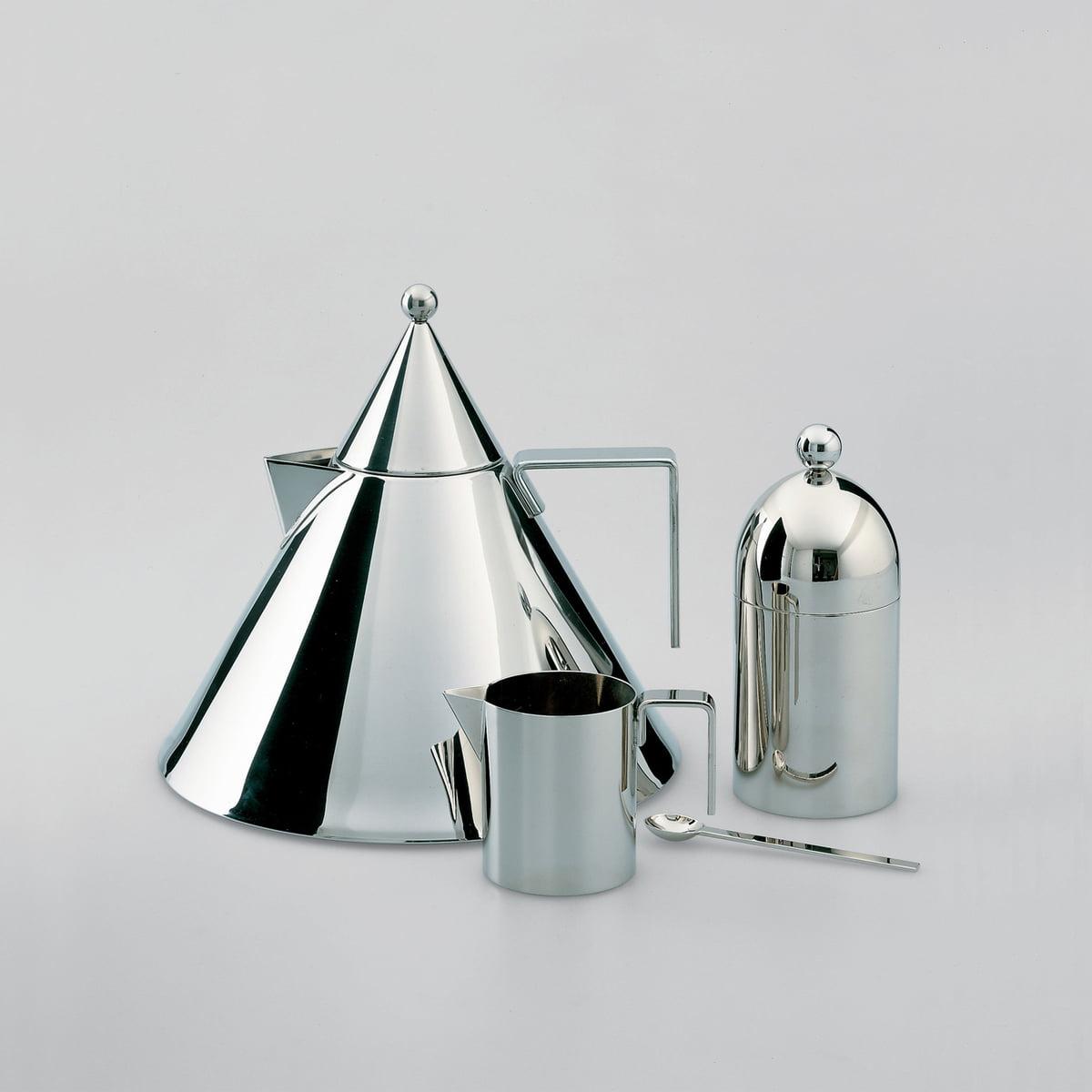 il conico wasserkessel von officina alessi. Black Bedroom Furniture Sets. Home Design Ideas
