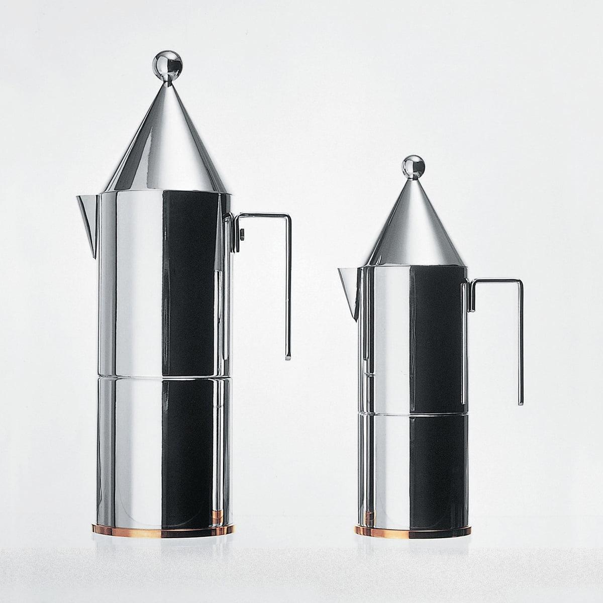 Officina Alessi - La Conica Espressokocher| klein | Küche und Esszimmer > Kaffee und Tee > Teekocher | Alessi