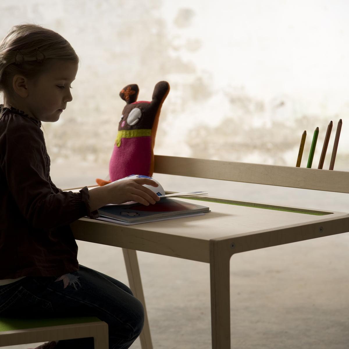 Sirch - Sibis Afra Kindertisch  grün   Kinderzimmer > Kindertische   Sirch
