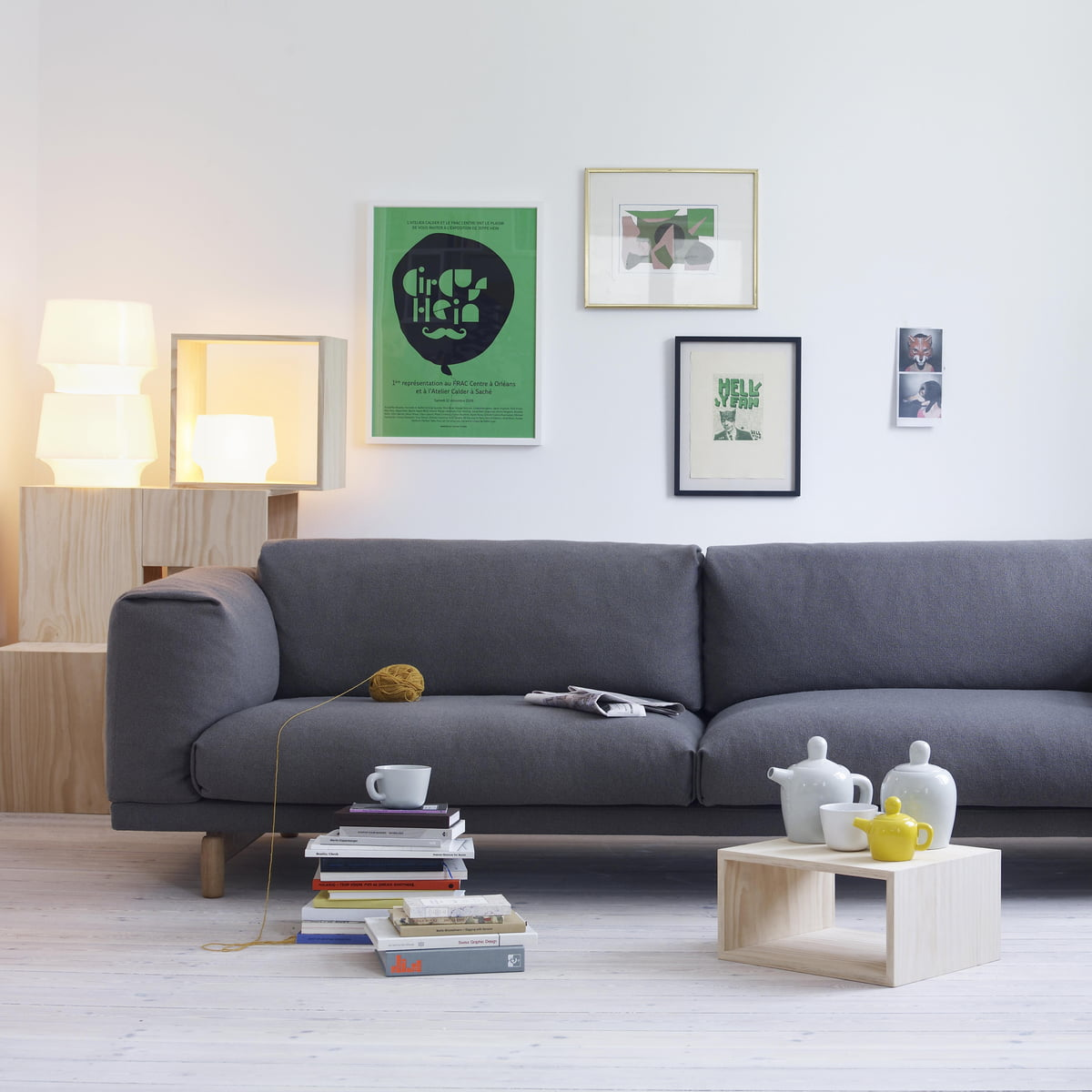 Schön Bequemes Rest Sofa Von Muuto