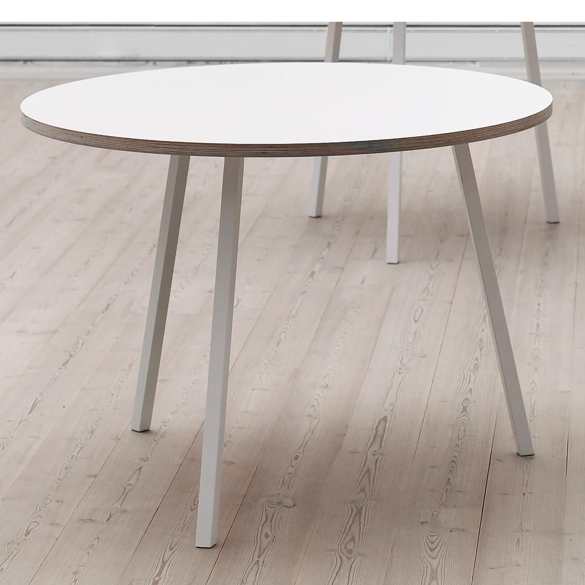 Esstisch weiß rund design  Loop Stand Tisch rund von Hay im Shop