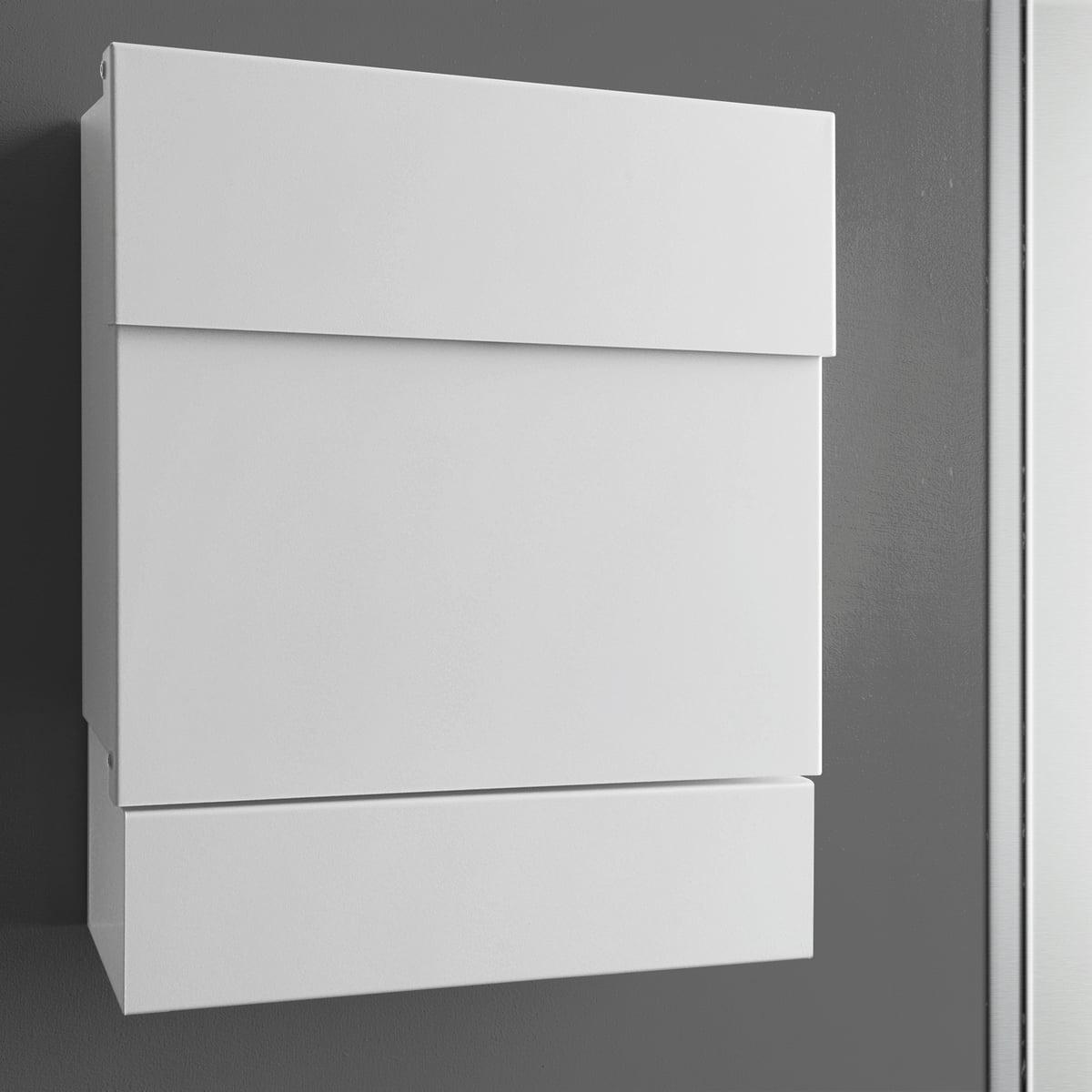 Radius Design - Briefkasten Letterman V| Edelstahl matt poliert | Baumarkt > Briefkästen | Radius Design